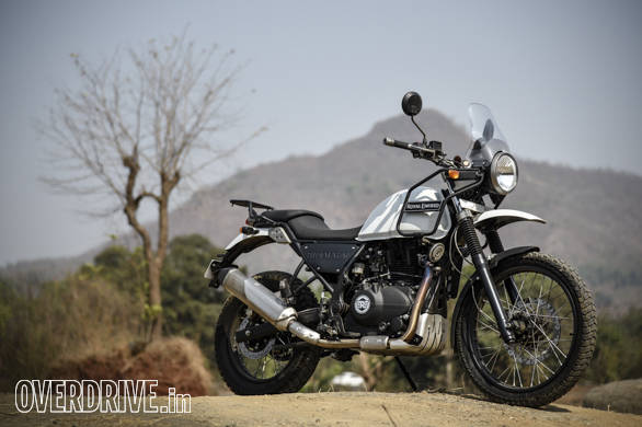 Exclusive Royal Enfield Himalayan Road Test Review Overdrive