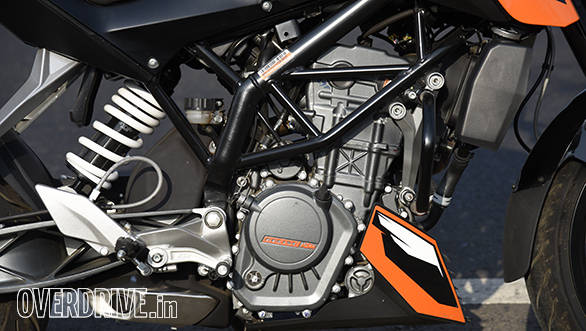 2016 KTM 200 Duke Engine