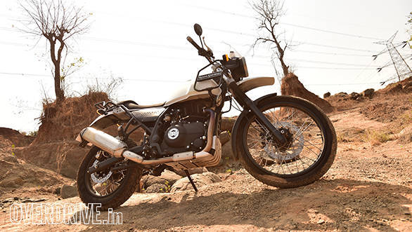 Royal Enfield Himalayan off-road static shot