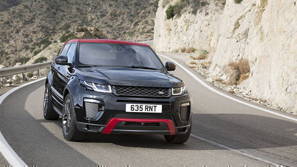 2017 Range Rover Evoque debuts with minor update, limited Ember edition