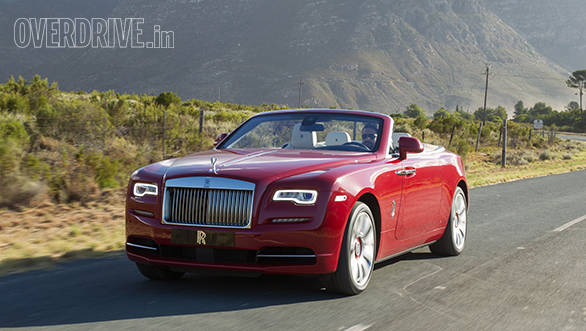 Exclusive: Rolls Royce Dawn first drive review