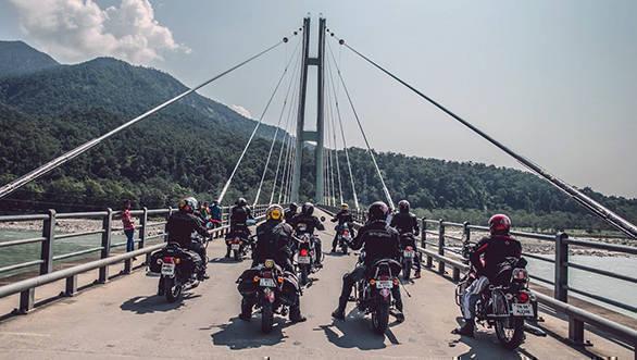 Royal Enfield Tour of Nepal  (2)