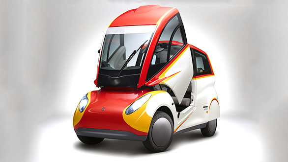 Shell develops energy efficient concept car