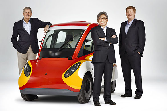 Gordon Murray, Shell Concept Car, Hidehito Ikebe and Bob Mainwar
