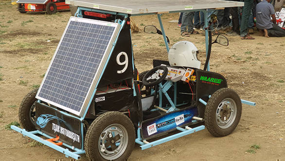 Solar Powered car (1)