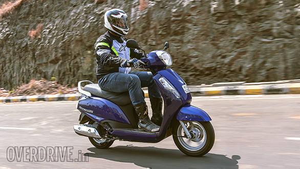 2016 Suzuki Access 125 road test review