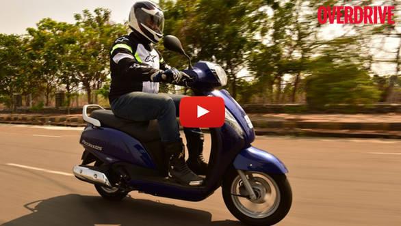 Video: Suzuki Access 125 Road Test Review