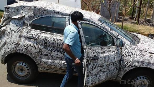 Spied: Tata Nexon spotted on Mumbai-Pune Expressway