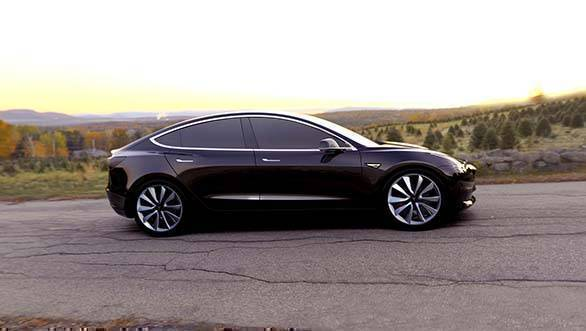 Tesla Model 3 will be the brand's first mass selling electric car
