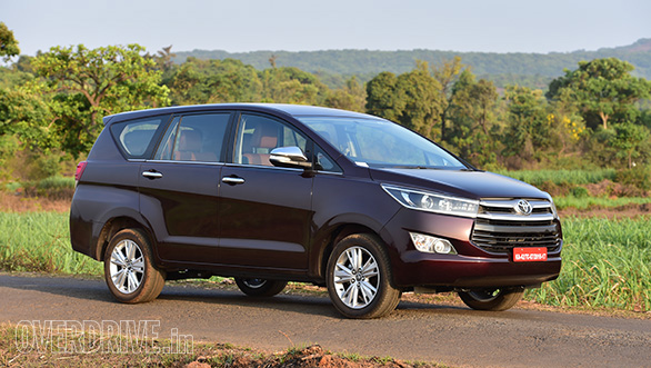 2016 Toyota Innova Crysta first drive review