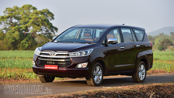 Toyota Innova Crysta Registers 20 000 Bookings In India
