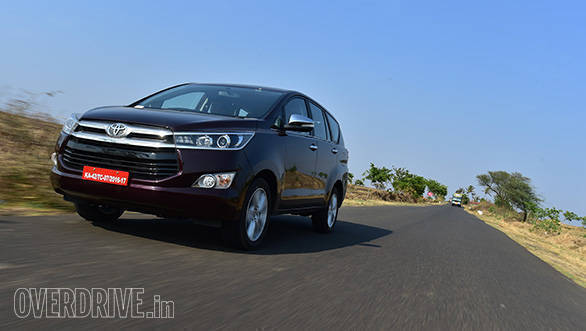 Toyota Innova Crysta petrol to launch in India around Diwali
