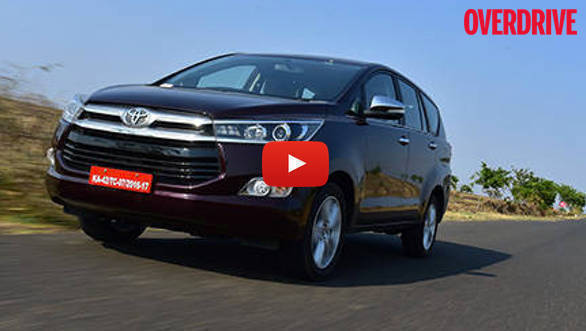 Video: Toyota Innova Crysta - First Drive Review