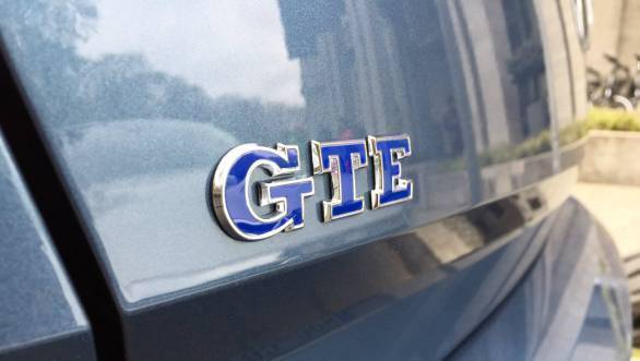 The car doesn't get any Passat badging. Instead you get a GTE badge on the rear and the sides