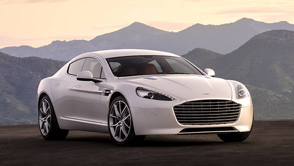 Aston Martin launch the 2016 Rapide in India at Rs 3 29 crore