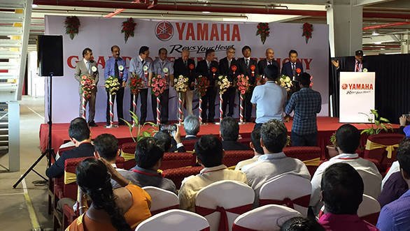 Yamaha India inaugurates new spare parts centre in Tamil Nadu
