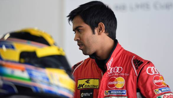 2016 marks Aditya Patel's second season in the Audi R8 LMS Cup