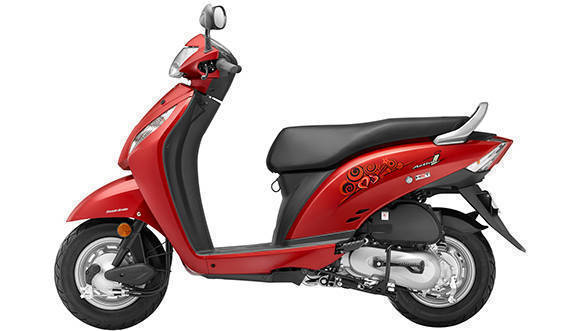 2016 Honda Activa-i Imperial Red Metallic
