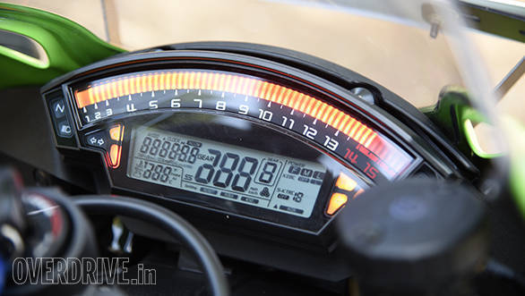 Peak power comes in at 13,000rpm