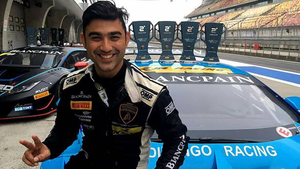 A good start to the 2016 season of racing for Armaan Ebrahim with a double podium finish in class at Shanghai