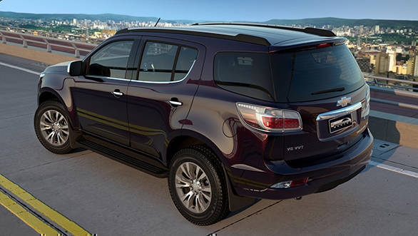 2017 Chevrolet Trailblazer rear