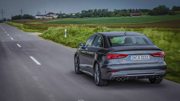 The S3 is something of a mile-muncher, as we discovered on certain unrestricted sections of the Autobahn