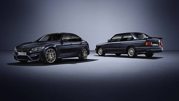BMW M celebrates 30th anniversary of the M3 with a special edition