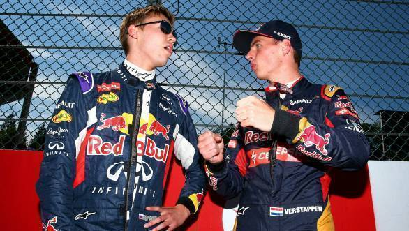F1 2016: Verstappen replaces Kvyat at Red Bull for rest of season