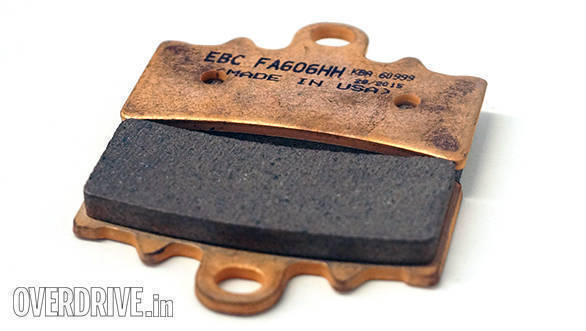 Product review: EBC Double-H brake pads for KTM 390 Duke