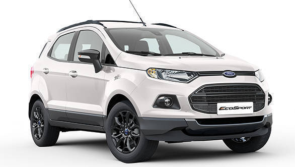ford ecosport black edition launched in india at rs lakh overdrive. Black Bedroom Furniture Sets. Home Design Ideas