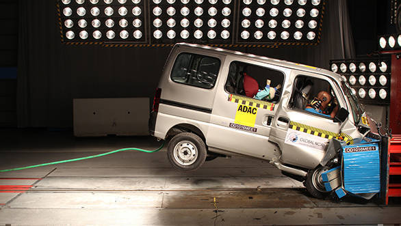 Breaking: Maruti Suzuki Eeco scores zero star in Global NCAP crash test