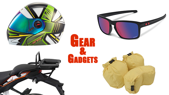 Gear and gadgets: Giant Loop dry pods, Oakley Marc Marques edition, Mugen gloves