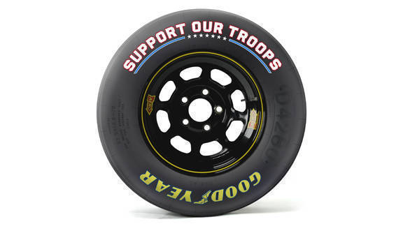 Goodyear to honour US Military with a special message on NASCAR tyres