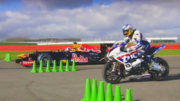 Video worth watching: Guy Martin takes on David Coulthard at Silverstone