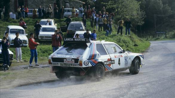 Also from the 1986 Tour de Corse before the tragic accident took Toivonen away from a brighter future in the WRC