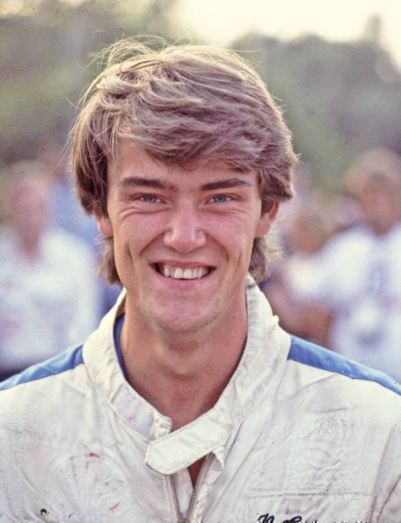 Harri Toivonen, Henri's brother, at the Acropolis Rally in 1983
