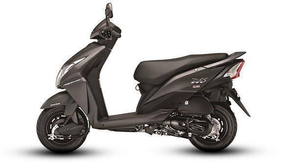 Honda Dio Matte Axis Grey