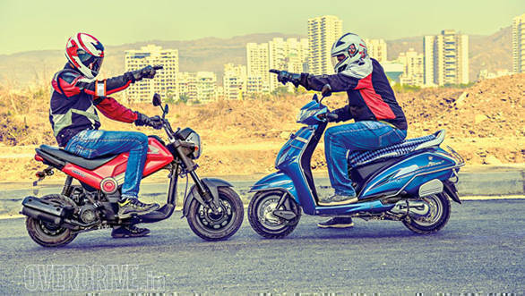 Honda Navi vs Honda Activa: What the funk!