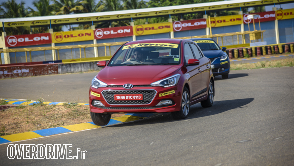 Hot Hatch Track Test Coimbatore  (1)