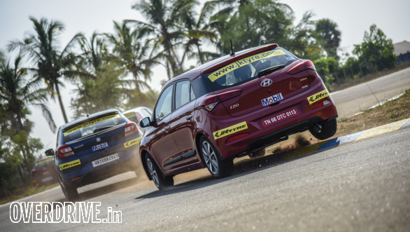 Hot Hatch Track Test Coimbatore  (11)