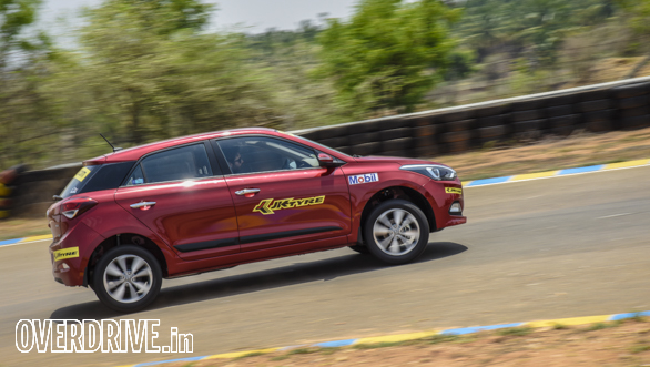 Hot Hatch Track Test Coimbatore  (29)