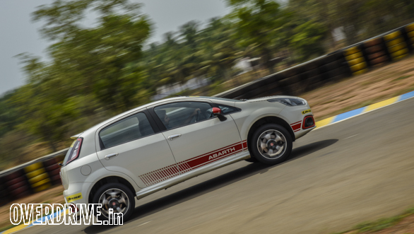 Affordable hot hatchback track test: Fiat Punto Abarth