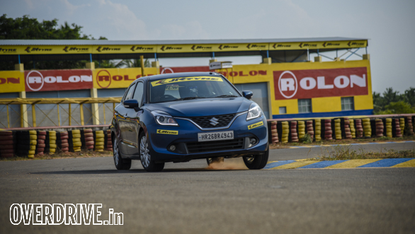 Affordable hot hatchback track test: Maruti Suzuki Baleno