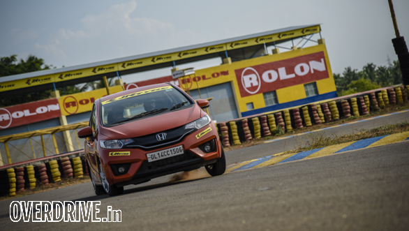 Affordable hot hatchback track test: Honda Jazz
