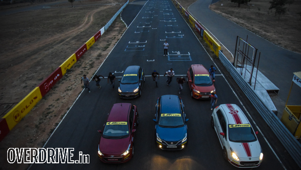 Hot Hatch Track Test Coimbatore Opening (22)