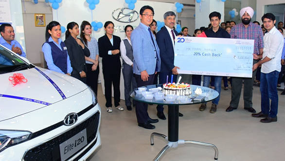 Hyundai 20 years celebration offer