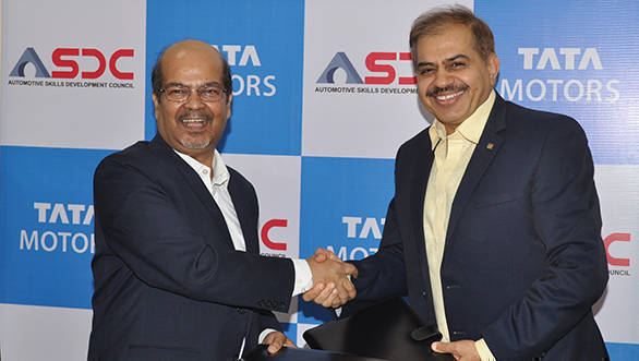 Tata Motors signs MoU with Automotive Skills Development Council