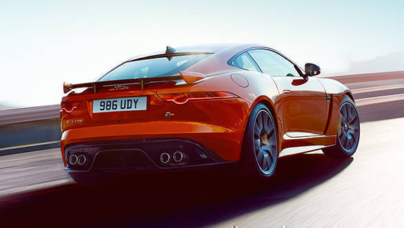 Video worth watching: Jaguar lets you 'visualise' the F-type SVR's exhaust notes