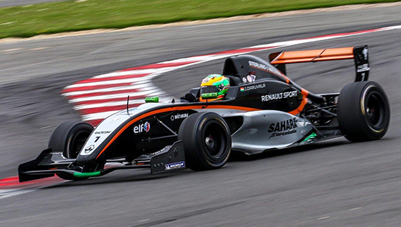 Jehan Daruvala Forumula Renault (2)
