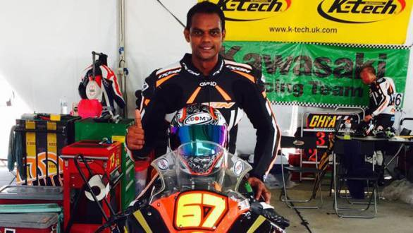 K Rajini had a mixed weekend at the season-opening round of the Malaysian Superbike Championship - fourth in Race 1 and fifth in Race 2